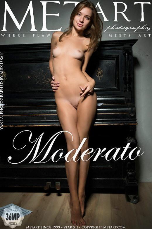 Yani A - `Moderato` - by Alex Iskan for METART