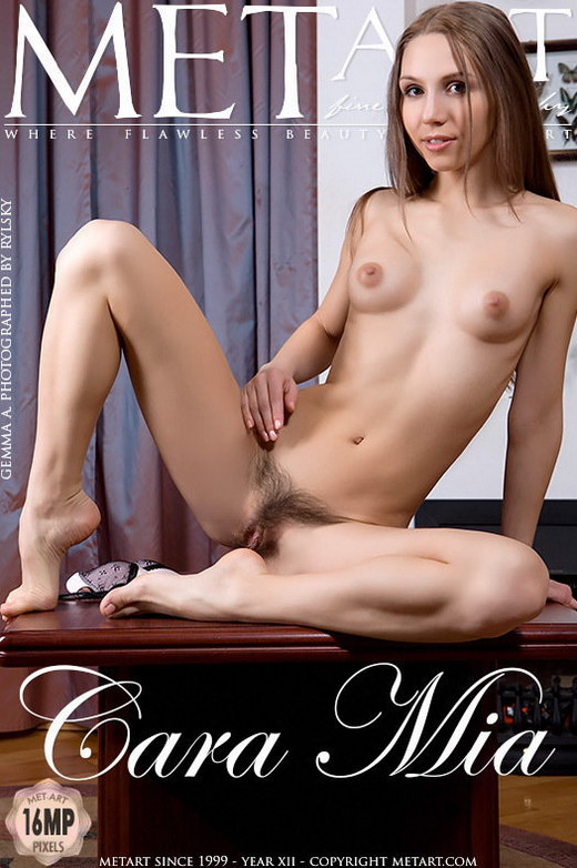Gemma A - `Cara Mia` - by Rylsky for METART