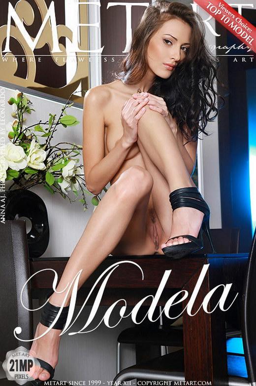 Anna AJ - `Modela` - by Leonardo for METART