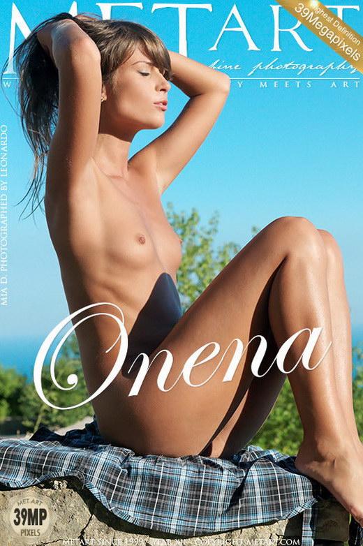 Mia D - `Onena` - by Leonardo for METART