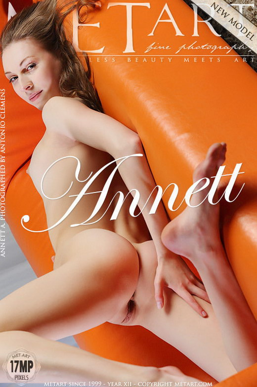 Annett A - `Presenting Annette` - by Antonio Clemens for METART