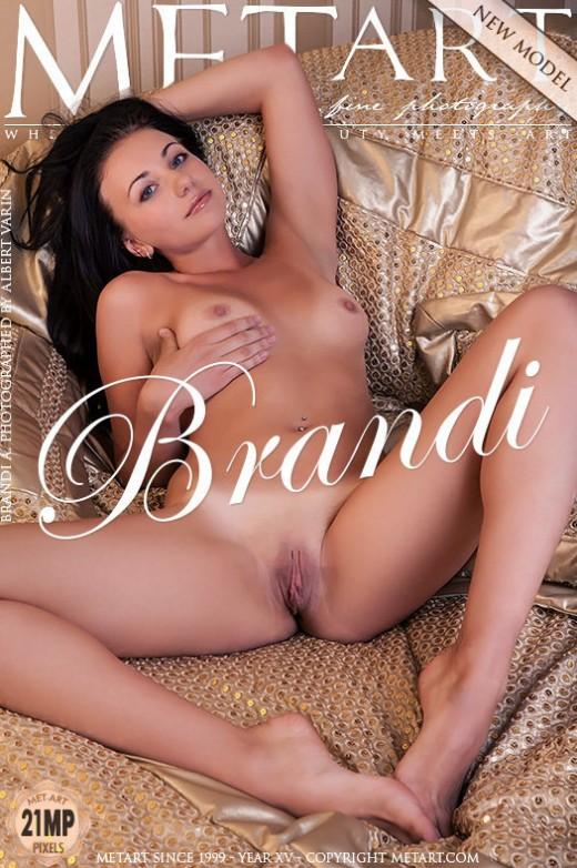 Brandi A - `Presenting Brandi` - by Albert Varin for METART