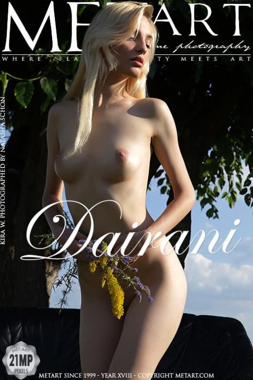 Kira W - `Dairani` - by Natasha Schon for METART