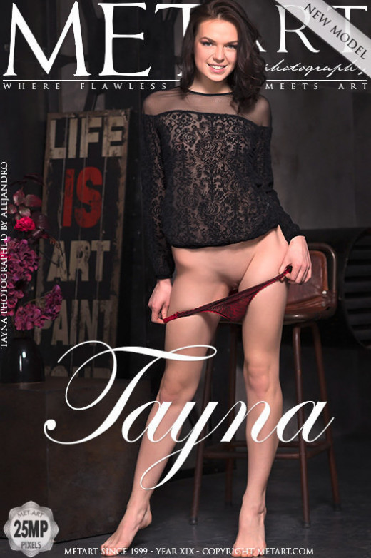 Tayna - `Presenting Tayna` - by Alejandro for METART