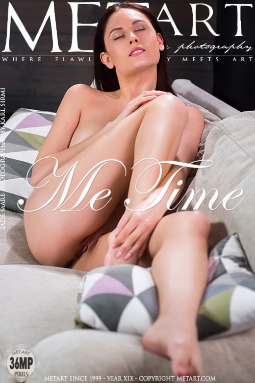 Sade Mare in Me Time gallery from METART by Karl Sirmi