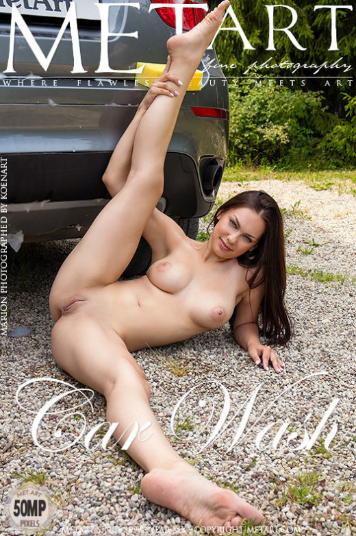 Marion in Car Wash gallery from METART by Koenart