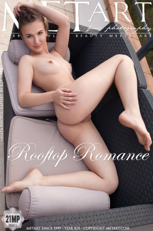 Anata in Rooftop Romance gallery from METART by Koenart