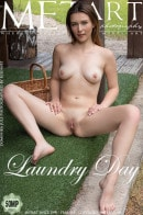 Dominika Jule in Laundry Day gallery from METART by Koenart