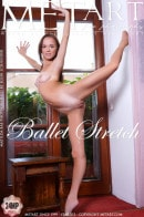 Matilda Bae in Ballet Stretch gallery from METART by Egon Schneider