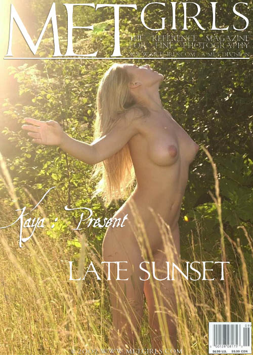 Nata A - `Late Sunset` - by Sandro Cignali for METGIRLS