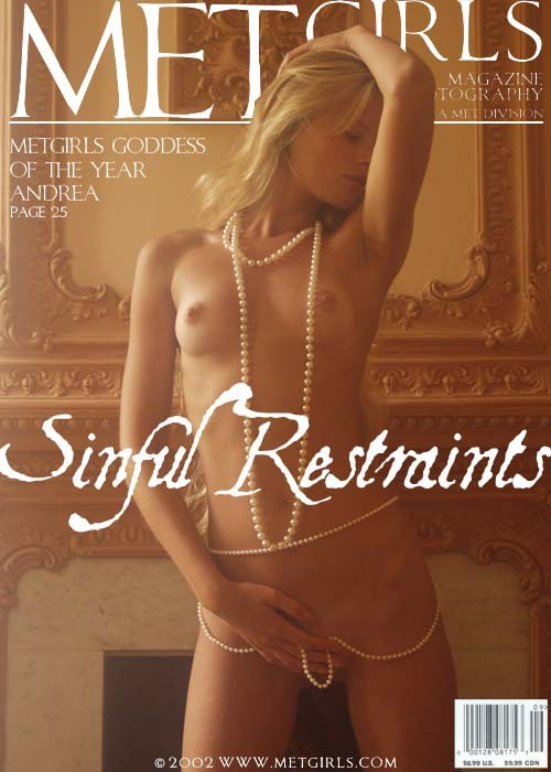 Andrea - `Sinful Restraints` - for METGIRLS