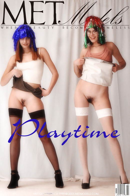 Frances & Isa in Playtime gallery from METMODELS by Sandro Cignali