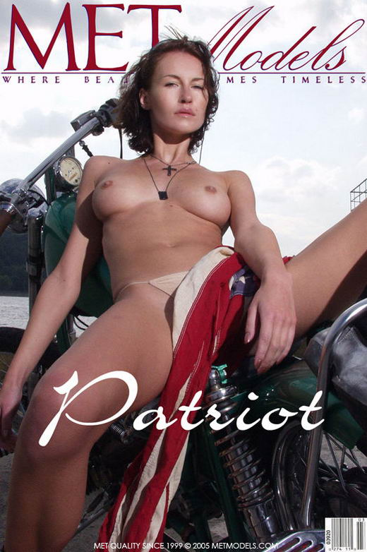 Mara - `Patriot` - by Natasha Schon for METMODELS