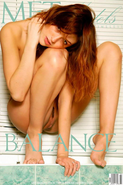 Sharon in Balance gallery from METMODELS by Alexander Voronin