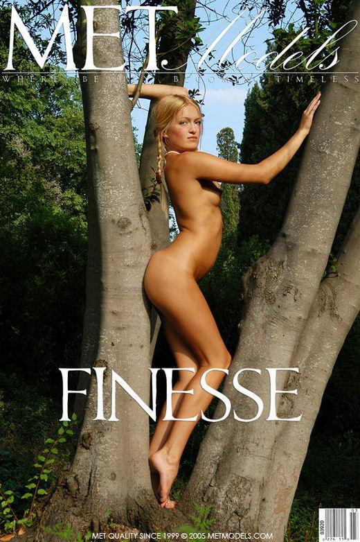 Anya - `Finesse` - by Alexander Voronin for METMODELS