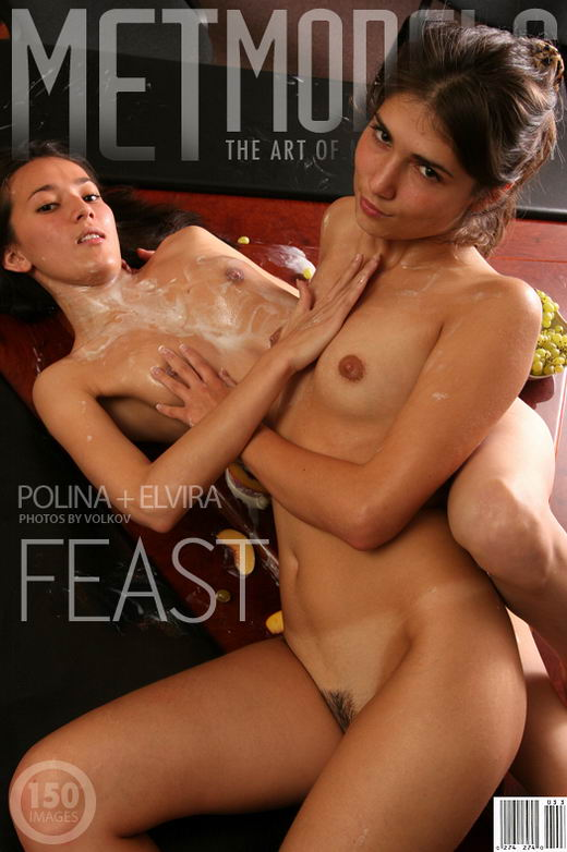 Elvira & Polina - `Feast` - by Anton Volkov for METMODELS