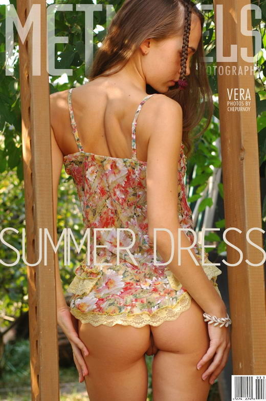 Vera in Summer Dress gallery from METMODELS by Sergey Goncharov