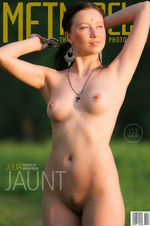Julia in Jaunt gallery from METMODELS by Vadim Rigin