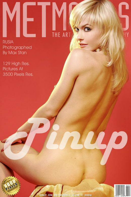 Rusia - `Pinup` - by Max Stan for METMODELS