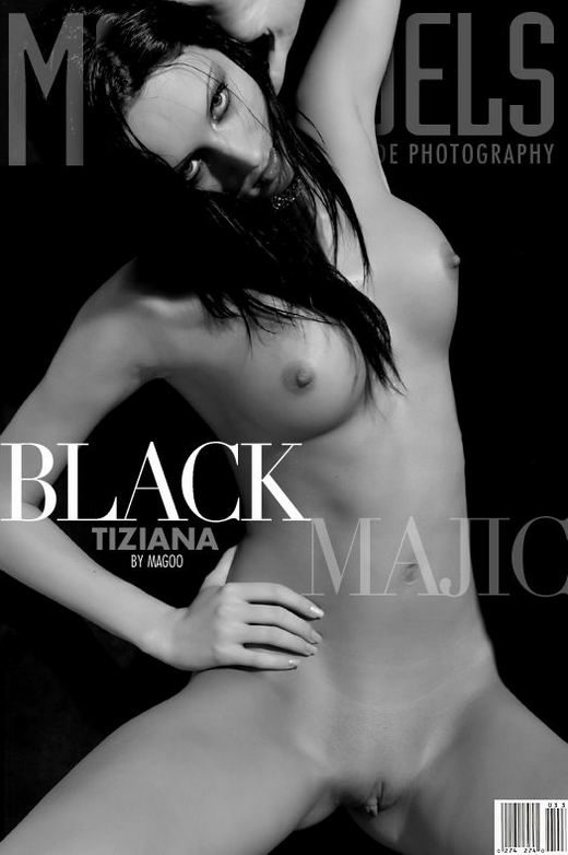 Tiziana - `Black Magic` - by Magoo for METMODELS