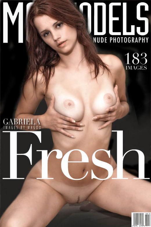 Gabriela - `Fresh` - by Magoo for METMODELS