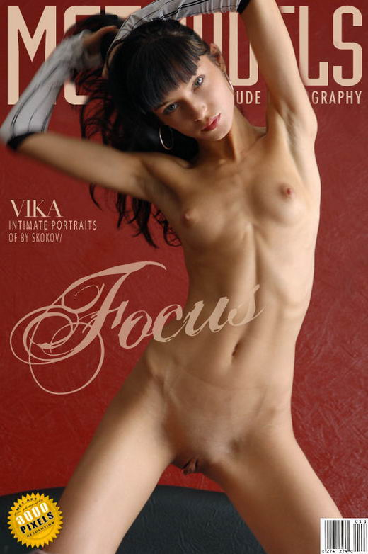 Vika - `Focus` - by Skokov for METMODELS