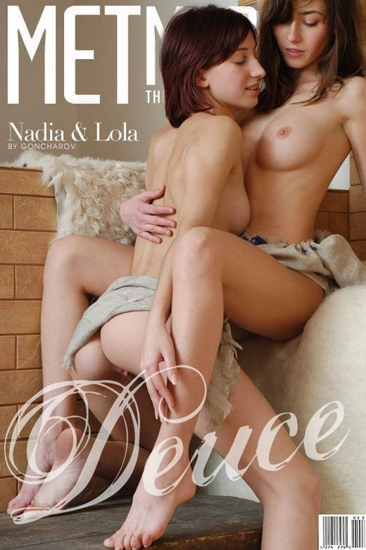 Nadia & Lola - `Deuce` - by Sergey Goncharov for METMODELS