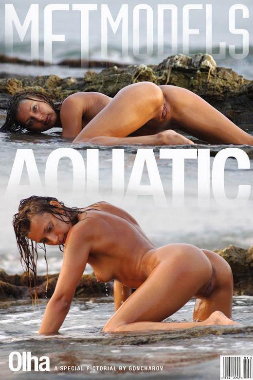 Olha - `Aquatic` - by Sergey Goncharov for METMODELS