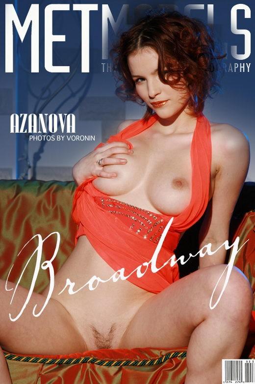 Azanova - `Broadway` - by Alexander Voronin for METMODELS