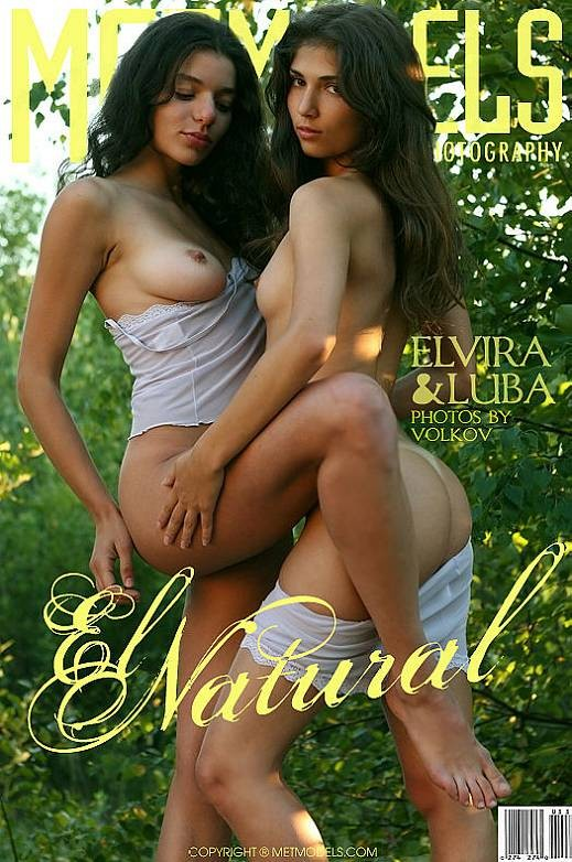 Elvira & Luba - `El Natural` - by Anton Volkov for METMODELS