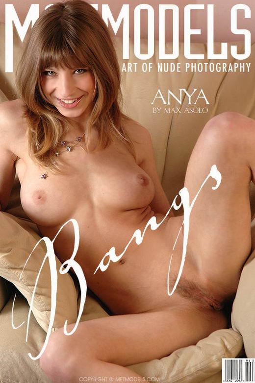 Anya - `Bangs` - by Max Asolo for METMODELS