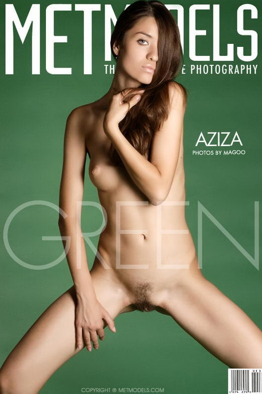 Aziza - `Green` - by Ingret for METMODELS