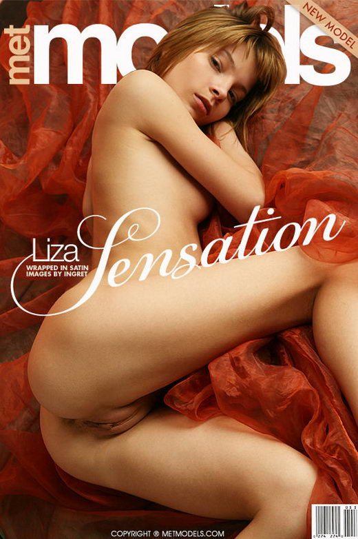 Liza A - `Sensation` - by Rylsky for METMODELS