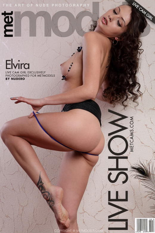 Elvira A - `Live Show` - by Nudero for METMODELS