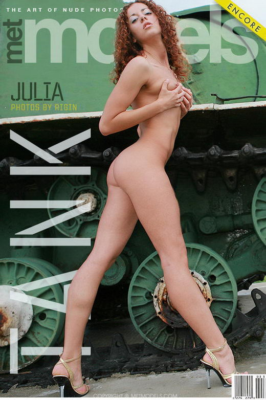 Julia B - `Tank` - by Vadim Rigin for METMODELS