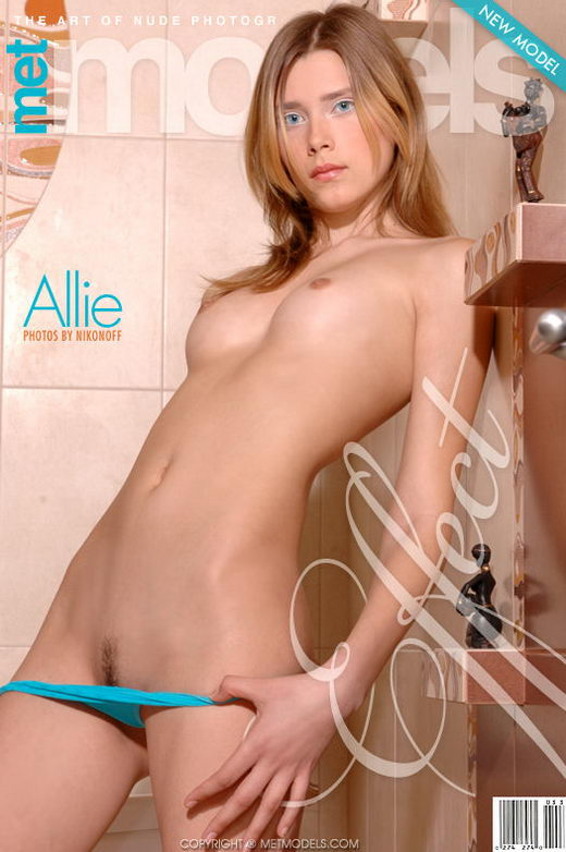 Allie A - `Effect` - by Nikonoff for METMODELS