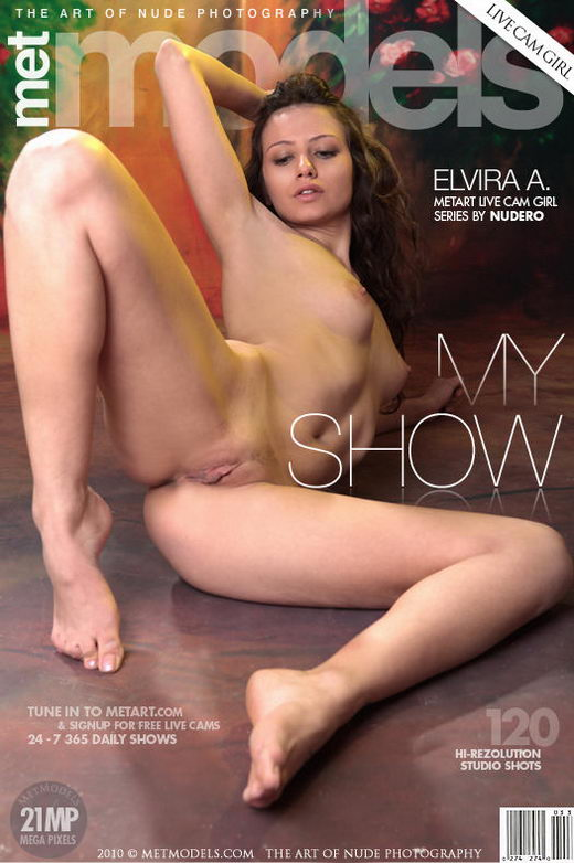 Elvira A - `My Show` - by Nudero for METMODELS