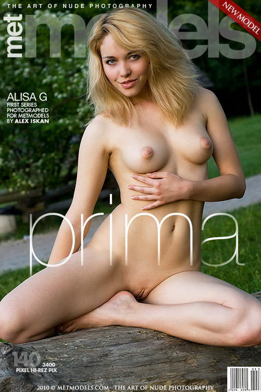 Alisa G - `Prima` - by Alex Iskan for METMODELS