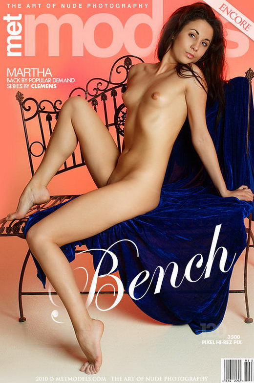 Martha A - `Bench` - by Antonio Clemens for METMODELS