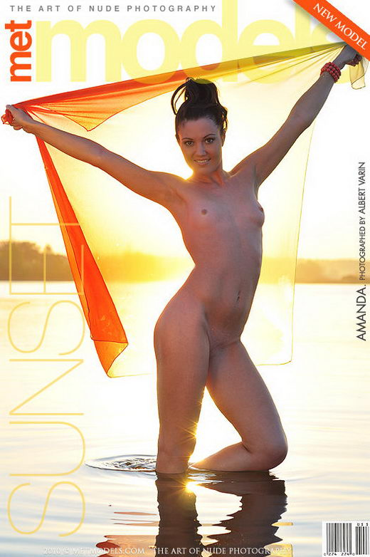 Amanda B - `Sunset` - by Albert Varin for METMODELS