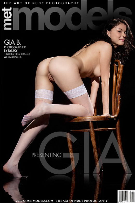 Gia B - `Presenting Gia` - by Rylsky for METMODELS