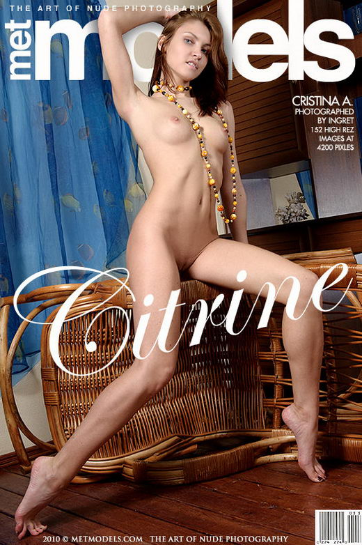 Cristina A - `Citrine` - by Ingret for METMODELS