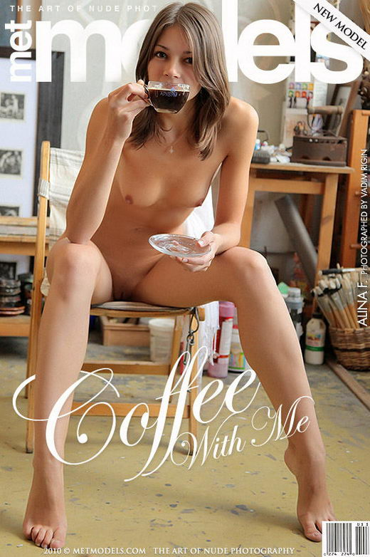 Alina F - `Coffee With Me` - by Vadim Rigin for METMODELS