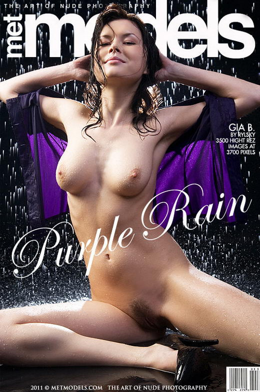 Gia B in Purple Rain gallery from METMODELS by Rylsky