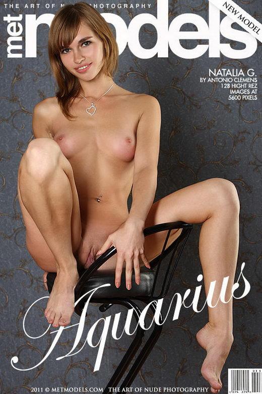 Natalia G - `Aquarius` - by Antonio Clemens for METMODELS