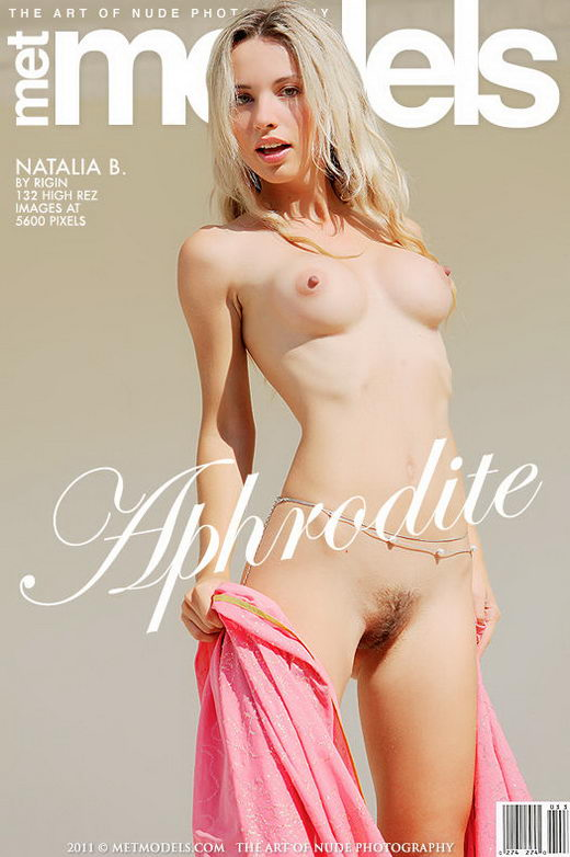Natalia B - `Aphrodite` - by Vadim Rigin for METMODELS