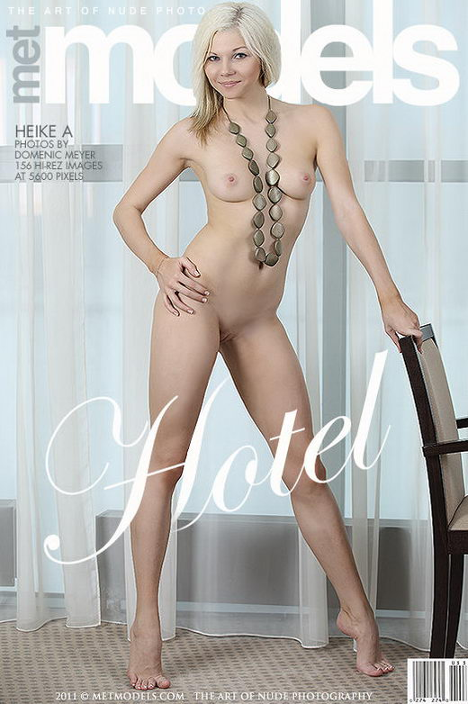 Heike A - `Hotel` - by Domenic Meyer for METMODELS
