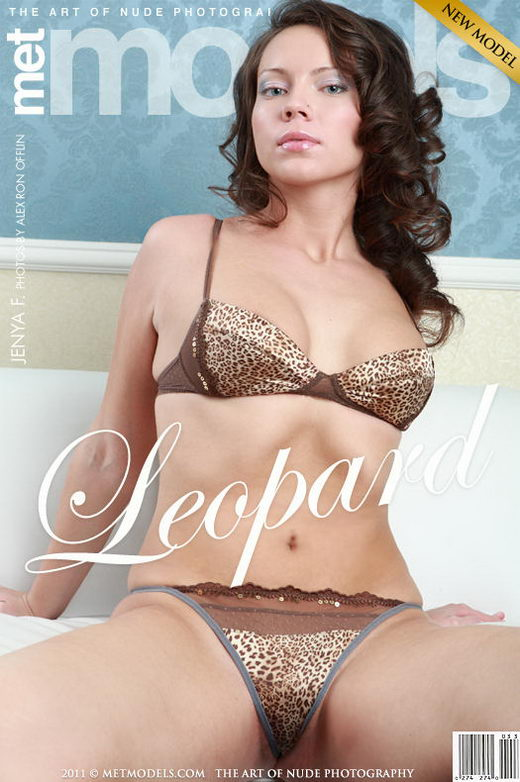 Jenya G - `Leopard` - by Ron Offlin for METMODELS