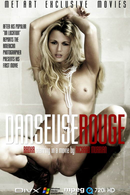 Radka - `Danseuse Rouge` - by Richard Murrian for METMOVIES