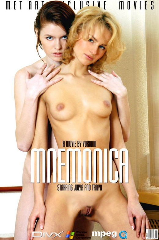 Tanya I & Ulya B - `Mnemonica` - by Voronin for METMOVIES